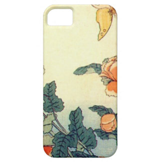 Flowers and a Butterfly iPhone 5 Covers