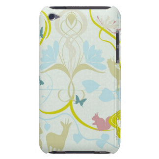 Flowers and Animals Barely There iPod Cover