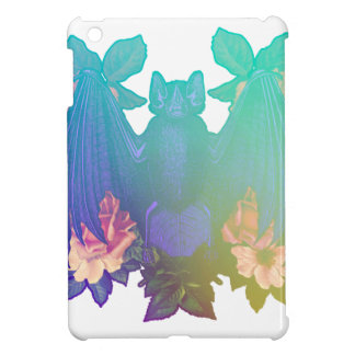 Flowers and bats iPad mini case