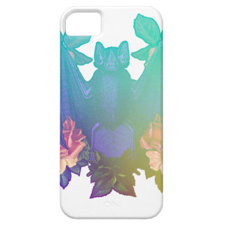 Flowers and bats iPhone 5 case