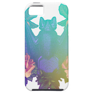 Flowers and bats iPhone 5 cover