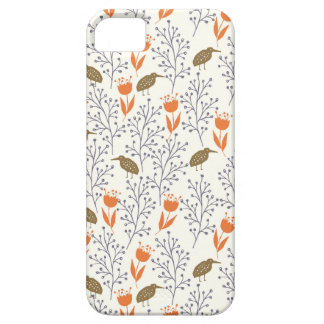 Flowers and Birds Neutral Phonecase iPhone 5 Covers