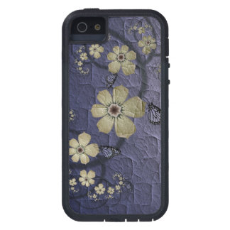 Flowers and Butterflies iPhone 5 Cases