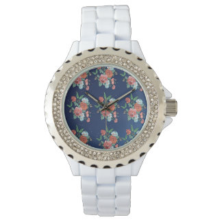 flowers and butterflies watch
