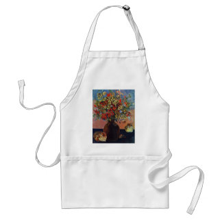 Flowers And Cats By Gauguin Paul (Best Quality) Standard Apron