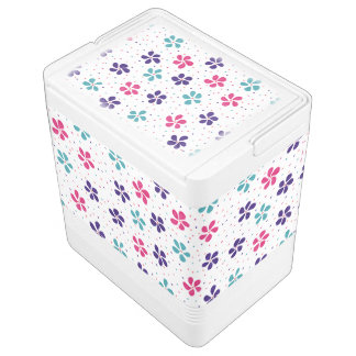 Flowers and Dots Pattern
