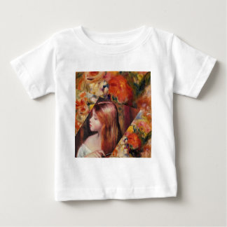 Flowers and female beauty blend just right baby T-Shirt