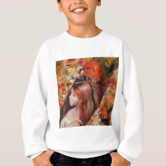 Flowers and female beauty blend just right sweatshirt