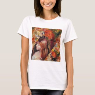 Flowers and female beauty blend just right T-Shirt