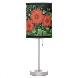 Flowers and Ferns Table Lamp