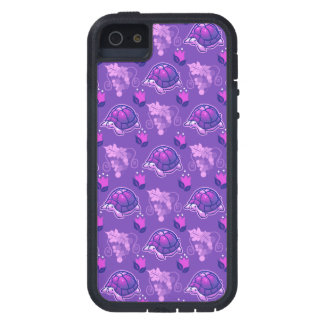 Flowers and Grapes Turtle Pattern iPhone 5 Cover