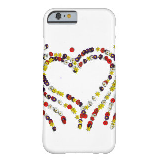 Flowers and Hearts Phone cover