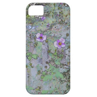 Flowers and Old Fence iPhone 5 Case