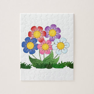 flowers and painting jigsaw puzzle