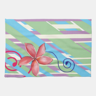 Flowers and Swirls Towels