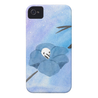 Flowers And Tiny Skull Case-Mate iPhone 4 Case