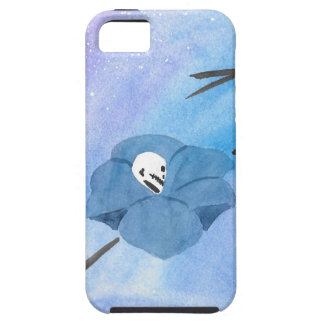 Flowers And Tiny Skull iPhone 5 Cover