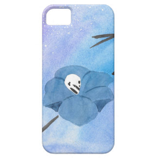 Flowers And Tiny Skull iPhone 5 Covers