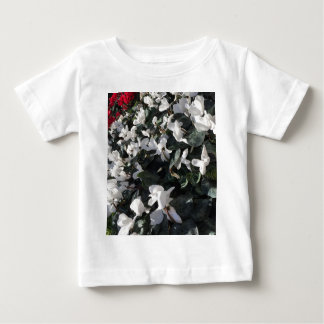 Flowers and unicorns baby T-Shirt