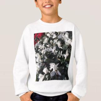 Flowers and unicorns sweatshirt