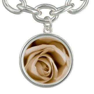 Flowers are amzing charm bracelet