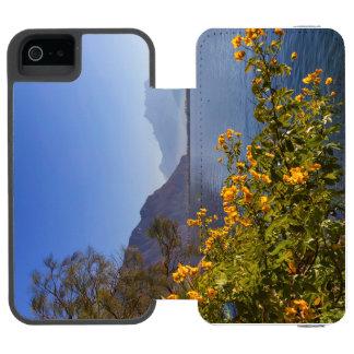 Flowers at Geneva lake, Montreux, Switzerland Incipio Watson™ iPhone 5 Wallet Case