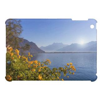 Flowers at Geneva lake, Montreux, Switzerland iPad Mini Covers