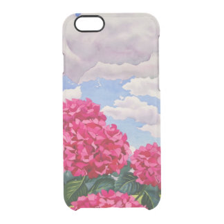 Flowers at the edge of a meadow 2008 clear iPhone 6/6S case