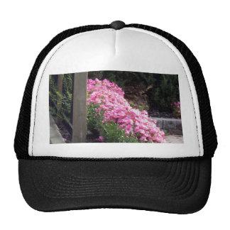 FLOWERS back of SHIRT holidays festivals GIFTS Trucker Hat
