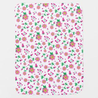 Flowers & Berries Baby Blanket