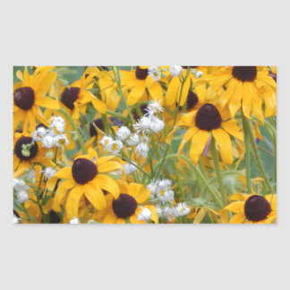 Flowers Black eyed susan's Sticker
