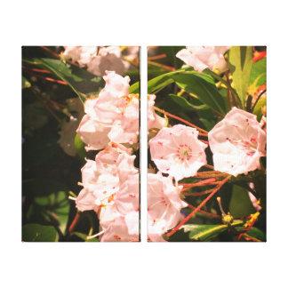 Flowers Blooming Canvas Print