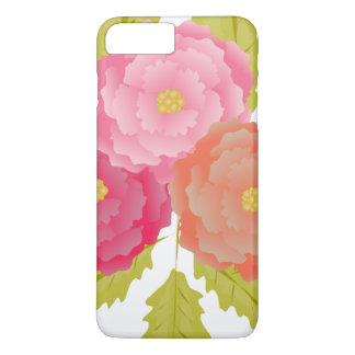 Flowers Blossoms Peace Love Art iPhone 8 Plus/7 Plus Case