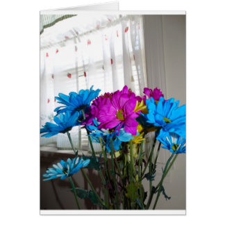 Flowers Bouquet, Mere Words Thank You Card