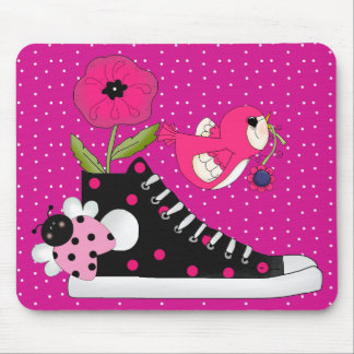 Flowers Bugs Sneakers All Products Kids Stuff Mouse Pad