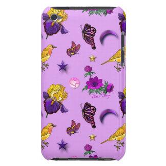 Flowers & Butterflies - Birds & Stars iPod Case-Mate Cases