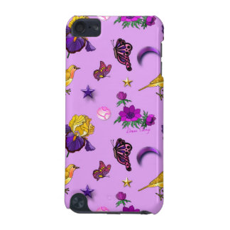 Flowers & Butterflies - Birds & Stars iPod Touch (5th Generation) Cases