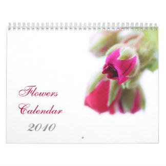 Flowers Calendar, 2010 Calendars