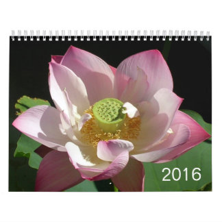 Flowers Calendar 2016