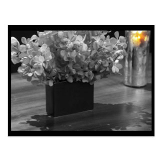 Flowers & Candles Postcard