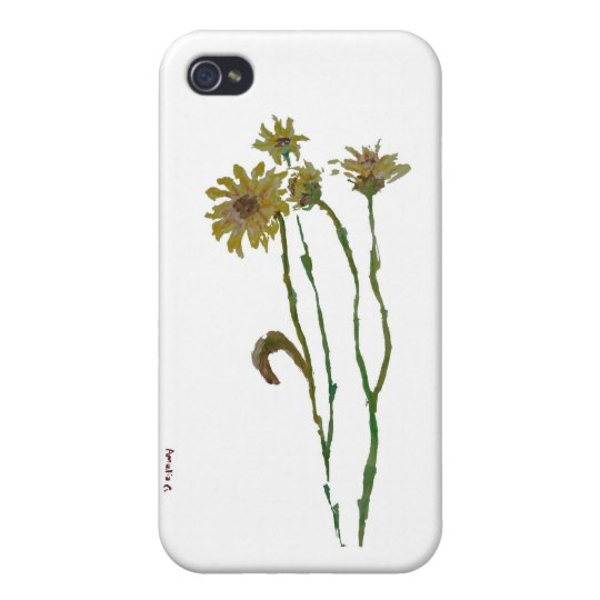 Flowers Case For iPhone 4