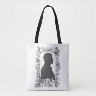 Flowers Come First Tote Bag
