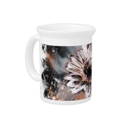 Flowers creativ pitcher