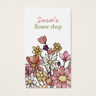 Flowers Custom Card Business