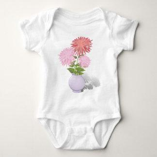 Flowers Dahlias in a vase Baby Bodysuit