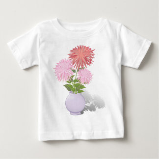 Flowers Dahlias in a vase Baby T-Shirt