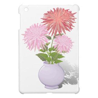 Flowers Dahlias in a vase iPad Mini Cover