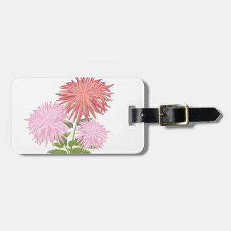 Flowers Dahlias in a vase Luggage Tag