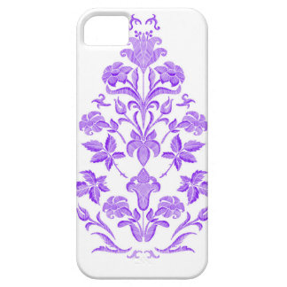 Flowers embroidery iPhone 5 cover