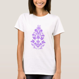 Flowers embroidery T-Shirt